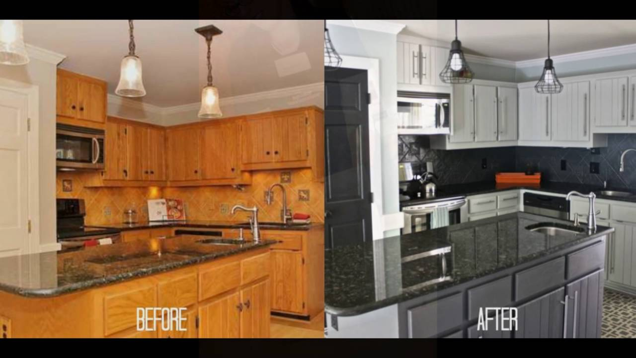 refinish cabinets without sanding - youtube