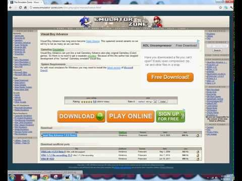 Pokemon Ruby Rom And VBA Download