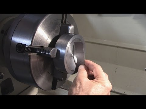Turning a Concave Surface on a Lathe (using DRO)