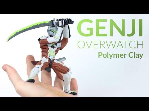 Genji (Overwatch) – Polymer Clay Tutorial