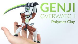 Genji (Overwatch) – Polymer Clay Tutorial thumbnail