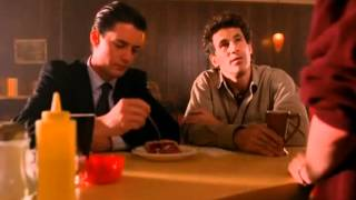Dale Cooper, the cherry pie, and the Log Lady