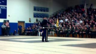 US Army Drill Team at 7th Brigade 2013