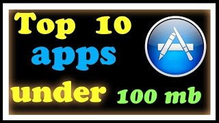 Top 10 IOS games under 100 mb (2015)