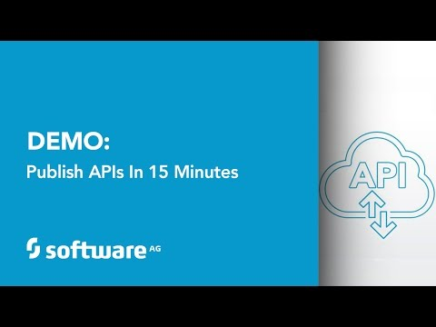 Demo: Publish APIs in 15 Minutes