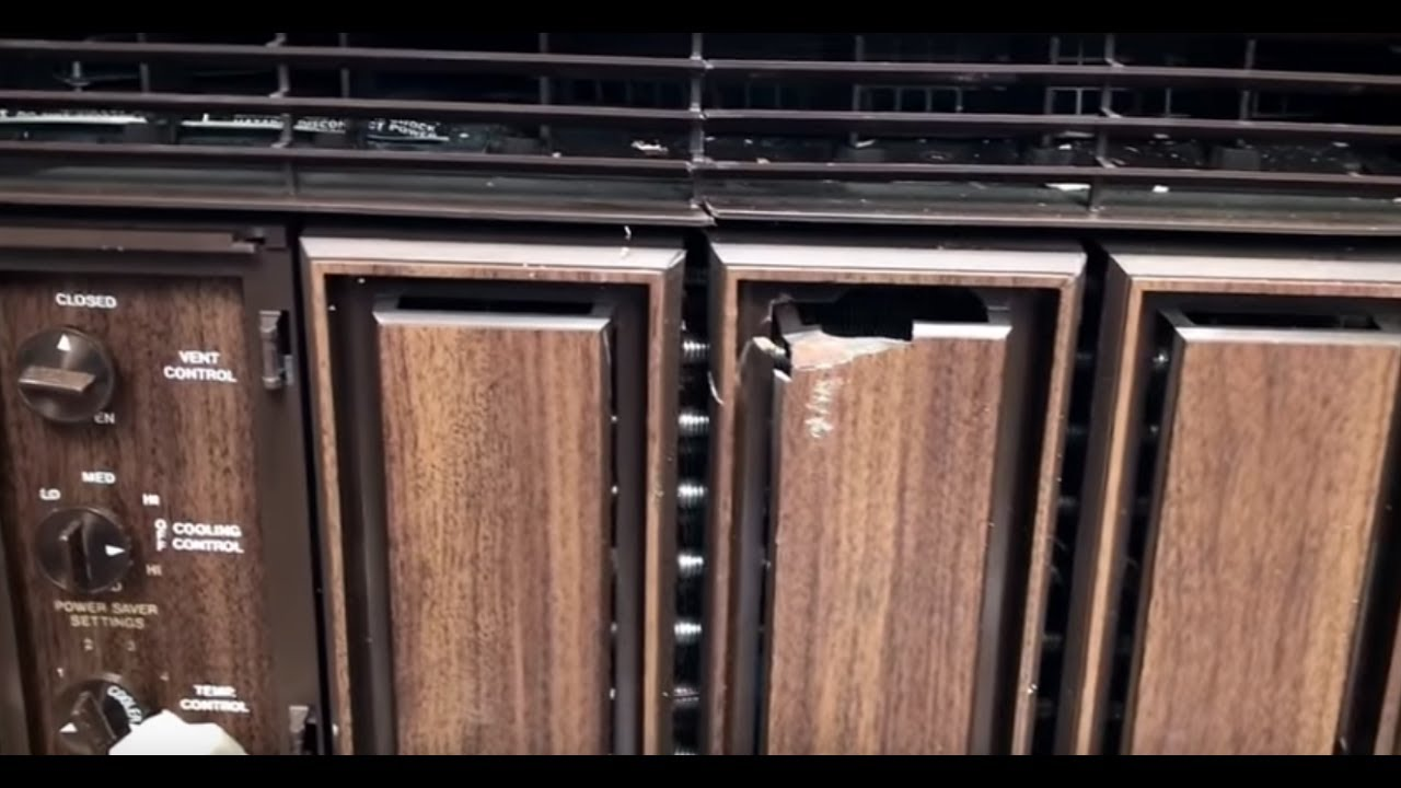 1977 Kenmore 6000 Btu Air Conditioner Totl Youtube