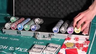 Обзор покерного набора Royal Flush Pro на 500 фишек