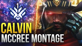 Calvin - INSANE McCree Montage - [Rank #1 McCree GOD] - Overwatch Montage