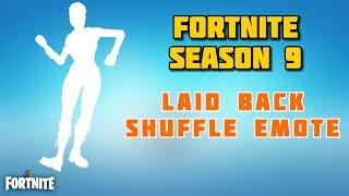 Fortnite - Laid Back Shuffle Rare Dance Emote From Tier 95 Battle Pass Reward - Season 9