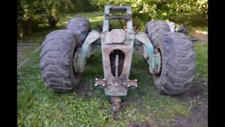 Przyczepa zrywkowa z napędem 4WD HOMEMADE (DIY)