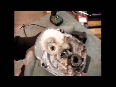 Ремонт перфоратора HD2601 БОЧКА 850Вт  Замена ротора