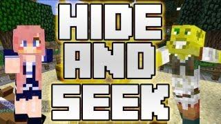 Fountain Surfing! | Minecraft Hide & Seek W/ Lizzie!