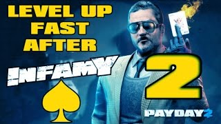 Payday 2 - How To Level Up Fast After Infamy 2016 (Part 2)