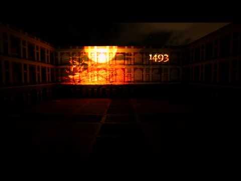 Cuartel De Ballaja projection show