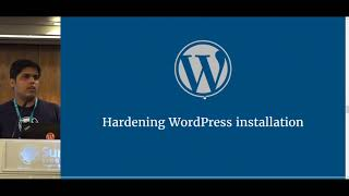 Securing your WordPress sites - WordCampSG 2017
