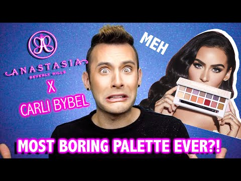 Most Boring ABH Palette Yet?!? ABH x Carli Bybel thumbnail
