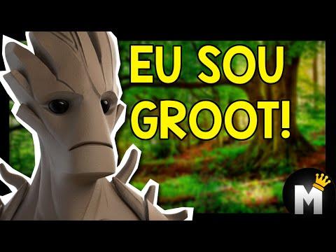 Monark JOGA - Guardiões da Galaxia ( Disney Infinity 2.0)