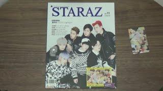 unboxing staraz vol 11 block b g dragon iu after school club and more