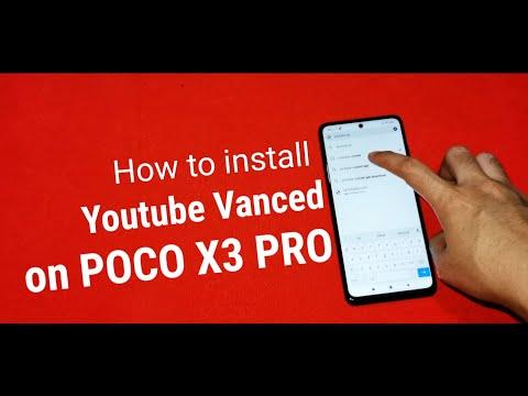 POCO X3 PRO: Fix Error Youtube Vanced