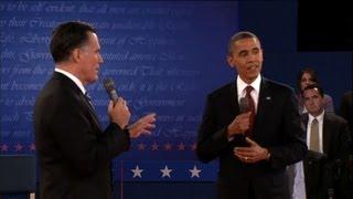 Vifs échanges entre Obama et Romney lors de leur deuxième débat
