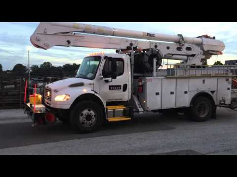 Power crews from Tampa Electric head north to help Duke Energy