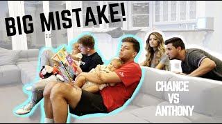 CHANTHONY BABYSITS TAYTUM AND OAKLEY **BIG MISTAKE**