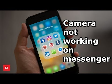 Can't do video call on messenger, Camera not working
