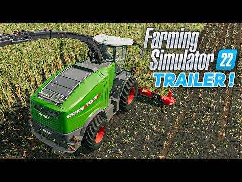 ANNONCE et TRAILER de FARMING SIMULATOR 22 ! (DATE DE SORTIE + VEHICULES FS22)
