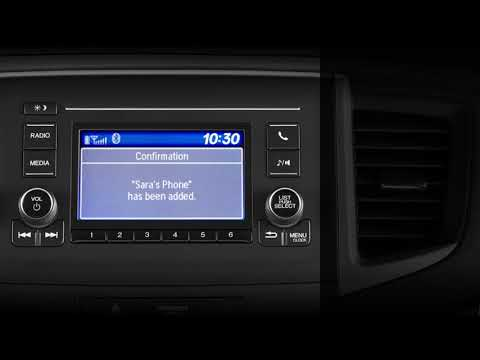 Honda Pilot: How to Pair Mobile Phones to Bluetooth® HandsFreeLink®: LCD Audio Models