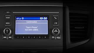 Honda Pilot How To Pair Mobile Phones Bluetooth Handsfreelink Lcd Audio Models