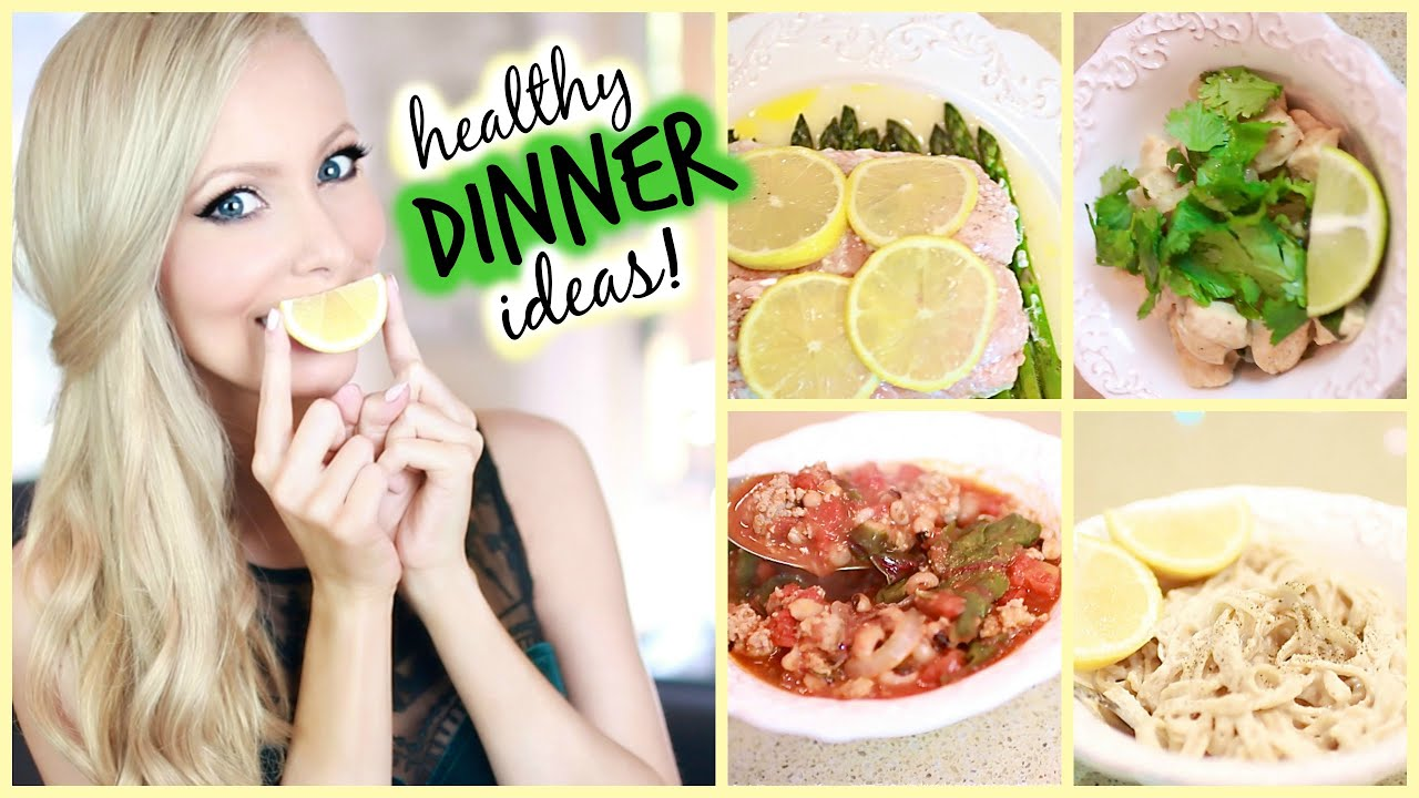 healthy dinner ideas youtube