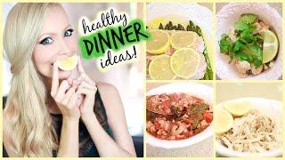 Healthy Dinner Ideas! Thumbnail