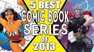 Best Comic Book Series of 2013