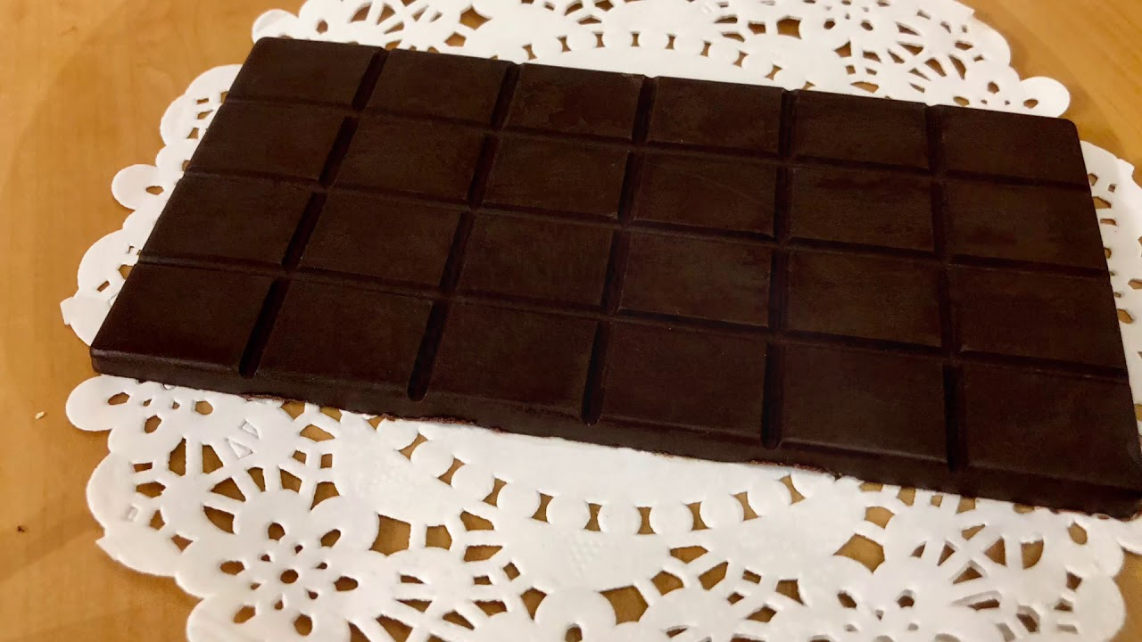 HOMEMADE CHOCOLATE WITHOUT COCONUT OIL. - YouTube