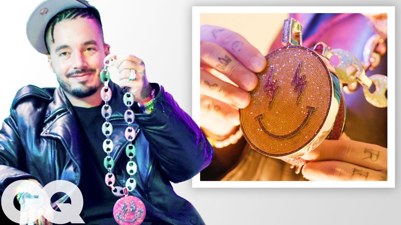 J Balvin Shows Off More of His Insane Jewelry Collection | On The Rocks