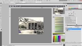 Реставрация старых фотографий. Придание цвета черно-белым фото.(В этом видео уроке вы научитесь придавать черно-белым фотографиям цвет, то есть раскрашивать их, как это..., 2013-05-12T23:36:14.000Z)