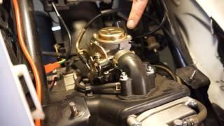 50cc scooter carburetor install