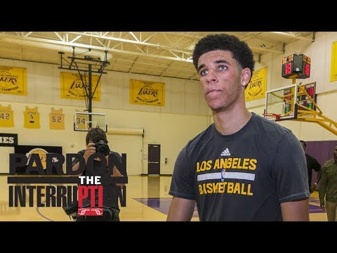 Lakers Not Sold On Lonzo Ball?   Pardon The Interruption   ESPN