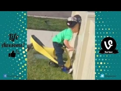 TRY NOT TO LAUGH or GRIN: Funny Kids Fails Compilation 2017 | Cute Funny Baby Fails Vines 2017