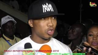 ITV RÉACTIONS FINALES DÉPARTEMENTALE TAMBACOUNDA 2016