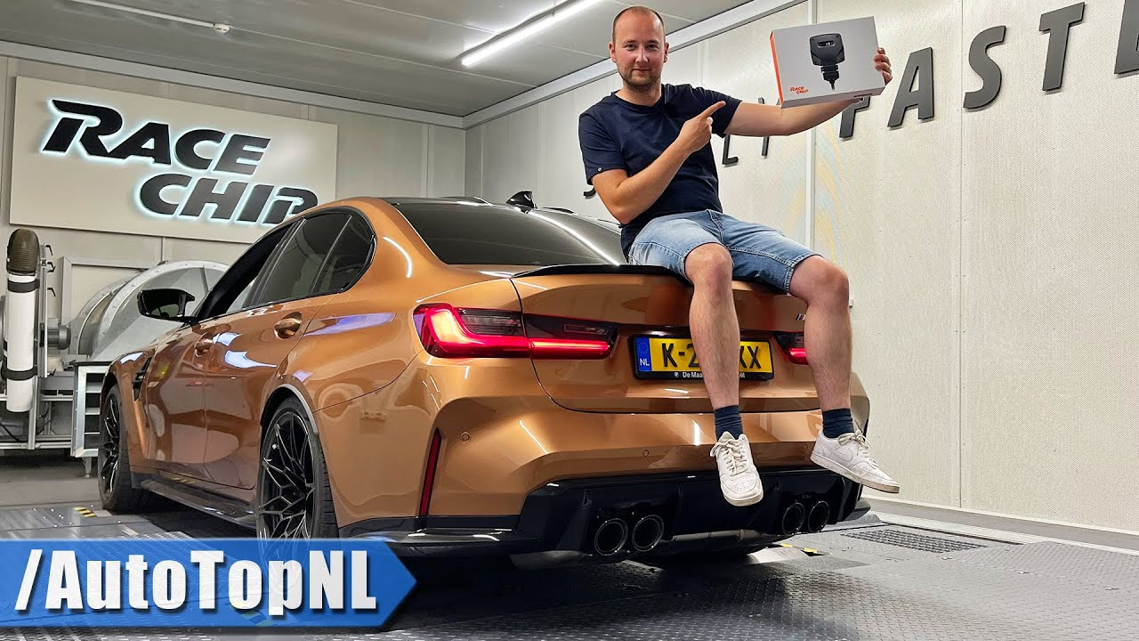 TUNING my BMW M3 G80 6MT with @RaceChip by AutoTopNL