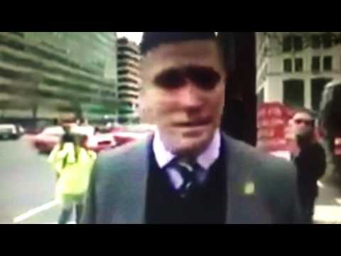 Richard Spencer Punched By Masked Man At Inauguration Of Donald Trump
