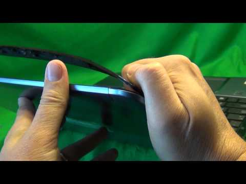 Toshiba Satellite S855 Laptop Screen Replacement Procedure