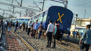 Live Train Accident at Samastipur Junction.