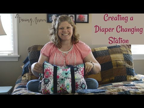 Creating a Diaper Changing Station