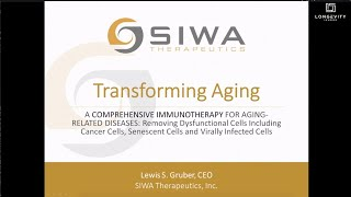 SIWA Therapeutics Company Showcase