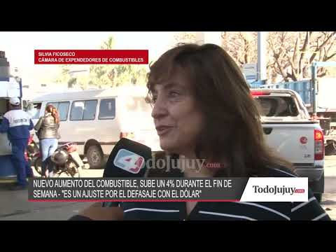 Silvia Ficoseco y un nuevo aumento