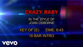 Joan Osborne - Crazy Baby (Karaoke)