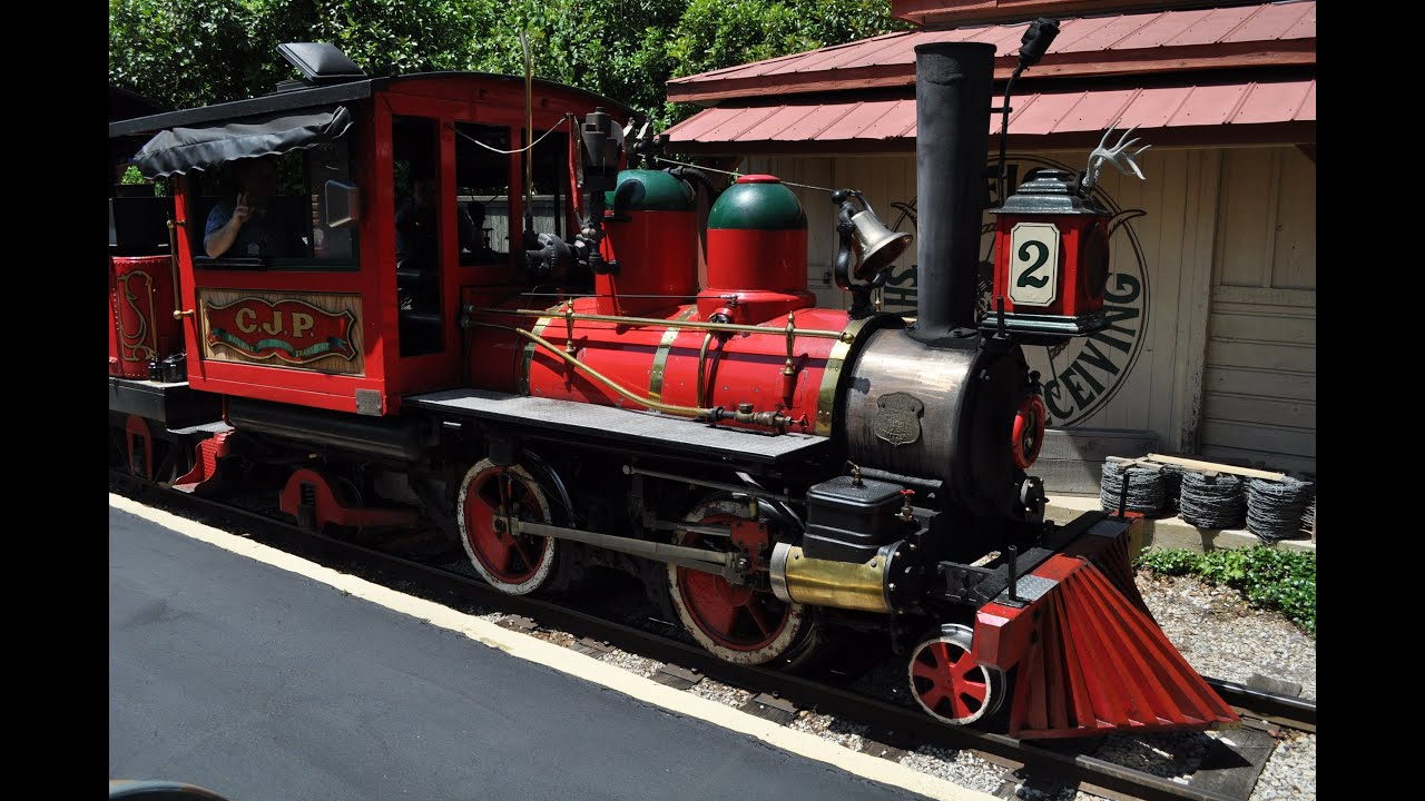 Six Flags Railroad   Guide to Six Flags over Texas