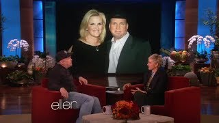 Garth Brooks on His Relationship with Trisha Yearwood on Ellen show